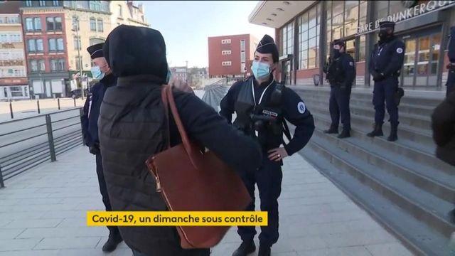 Covid-19 : un dimanche ensoleillé et des contrôles de police accrus