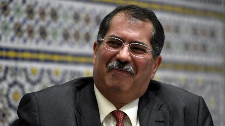 (le président du CFCM, Anouar Kbibech © maxPPP)