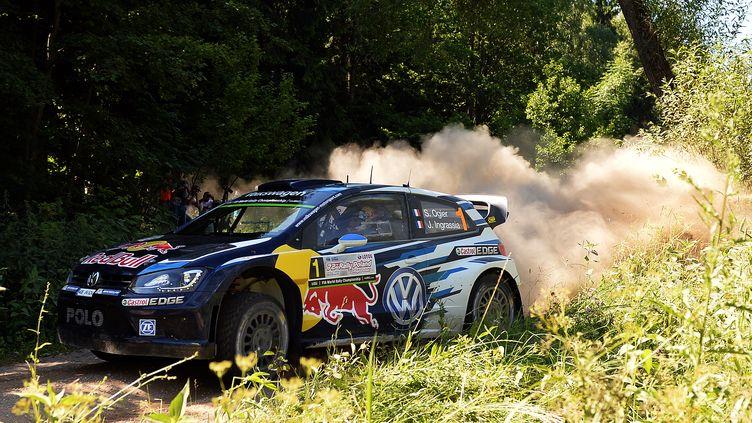 Sébastien Ogier (Volkswagen) (JANEK SKARZYNSKI / AFP)