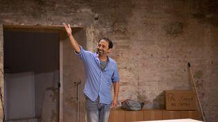 """Eric Métayer joue """"Un Monde Fou"""", Avignon Off 2019 (CECILE MELLA)"""
