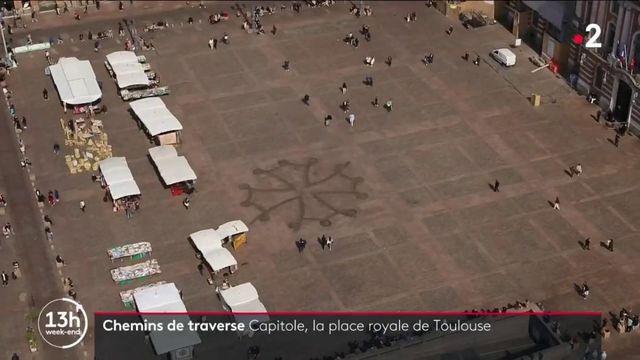 Place du Capitole à Toulouse (Haute-Garonne) : le coeur de la ville