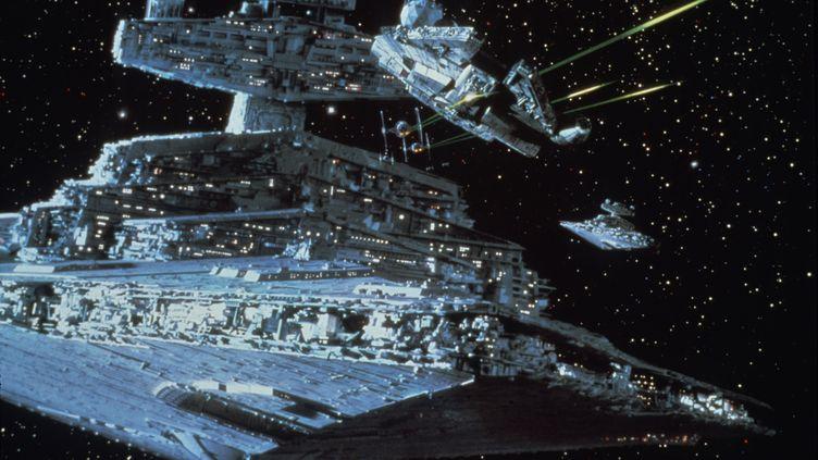 "Image extraite du film ""L'Empire contre-attaque"", sorti en 1980. (LUCASFILM / WALT DISNEY / AFP)"