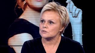 """Muriel Robin, invitée du Soir 3 revient sur le spectacle """"Ils s'aiment depuis 20 ans"""" avec Pierre Palmade et Michelle Laroque  (france3)"""
