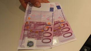 Deux billets de 500 euros. (MAXPPP)