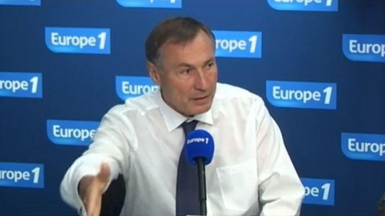 Le sénateur du Haut-Rhin Jean-Marie Bockel, le 6 septembre 2012 au micro d'Europe 1. (FTVI / EUROPE 1)