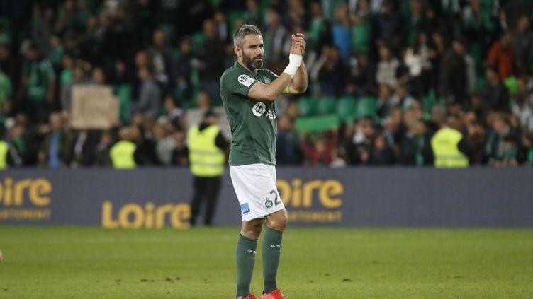 Loïc Perrin, ancien capitaine des Verts, va suivre le derby contre Lyon à distance (ROMAIN BIARD / ROMAIN BIARD)