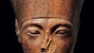 Ce portrait de Toutânkhamon, réclamé par l'Egypte, a été vendu chez Christie's à Londres le 4 juillet 2019 à un acheteur inconnu (HO / CHRISTIE'S AUCTION HOUSE)