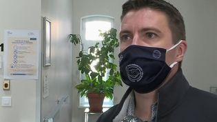 Sébastien Klem a été licencié pour faute grave pour être revenu au travail en attendant les résultats de son test PCR (CAPTURE D'ÉCRAN FRANCE 3)