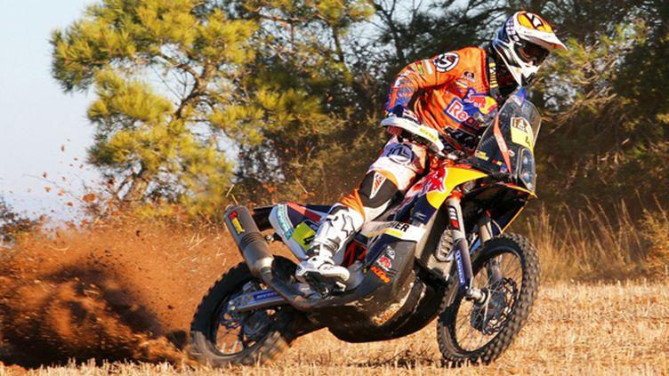 Jordi Viladoms sur la KTM 450 Rally