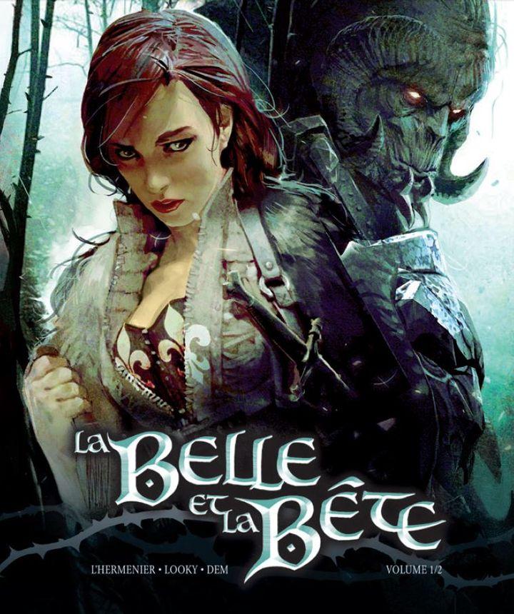 """Couverture de la BD """"La Belle et la bête"""" deMaxe L'Hermenier et Looky, paru en janvier 2014. (BAMBOO EDITIONS / FRANCETV INFO)"""