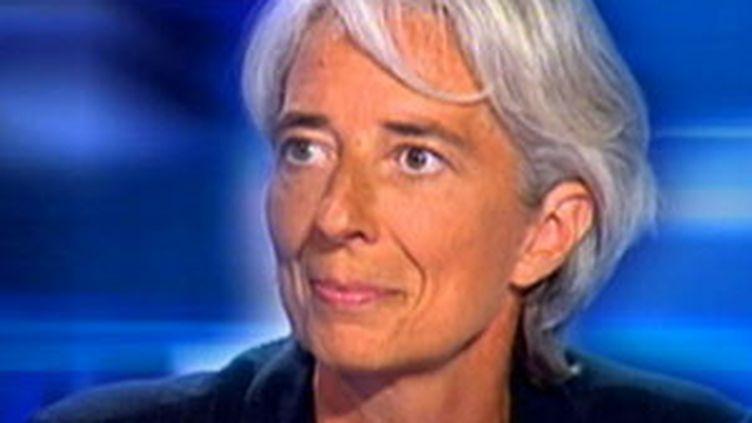 La ministre de l'Economie Christine Lagarde, le 13 août 2009 (© F2)