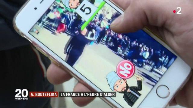 Marseille : la diaspora algérienne se mobilise contre un cinquième mandat d'Abdelaziz Bouteflika
