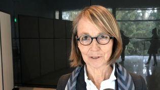 Françoise Nyssen, la ministre de la Culture, à Tours(Indre-et-Loire) le 15 mars 2018. (RADIO FRANCE)
