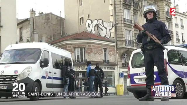 Saint-Denis en état de siège