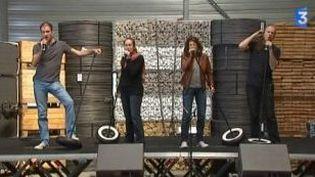 Les Grandes Gueules chantent à l'usine pour le Printemps de Pérouges  (Culturebox)