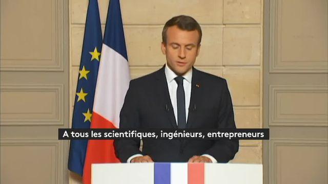 """""""Make our planet great again"""" : quand Emmanuel Macron détourne le slogan de Donald Trump"""