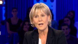 Nadine Morano était l'invitée de l'émission On n'est pas couché, le 26 septembre 2015 sur France 2. (ON N'EST PAS COUCHE / FRANCE TELEVISIONS)