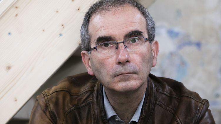 François Veillerette,directeur de l'association Générations Futures, en mai 2019 à Paris. (VINCENT ISORE / MAXPPP)
