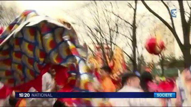 Nouvel An chinois : Paris a célébré l'année du Coq