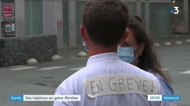 Santé : plusieurs hôpitaux en grève illimitée