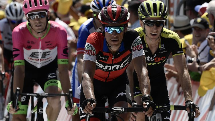 Richie Porte sur le Tour de France 2018 (PHILIPPE LOPEZ / AFP)