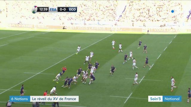 Tournoi des 6 Nations : le réveil du XV de France contre l'Écosse