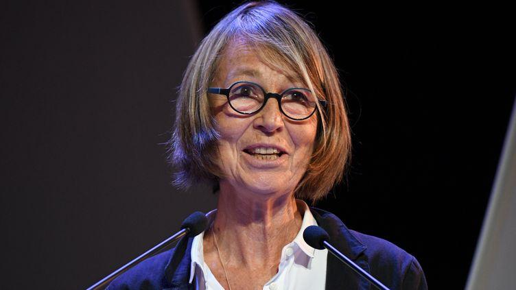 Françoise Nyssen, la ministre de la Culture, en juin 2017. (XAVIER LEOTY / AFP)
