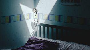 Une chambre d'enfant, le 24 avril 2020, en France. (LILIAN CAZABET / HANS LUCAS / AFP)