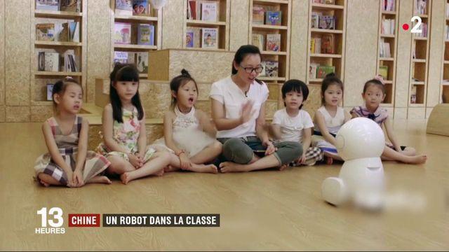 Chine : un robot dans la classe