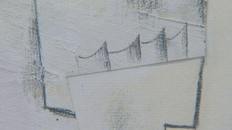 """Fragment du """"Verre"""" de Picasso  (France3/culturebox)"""