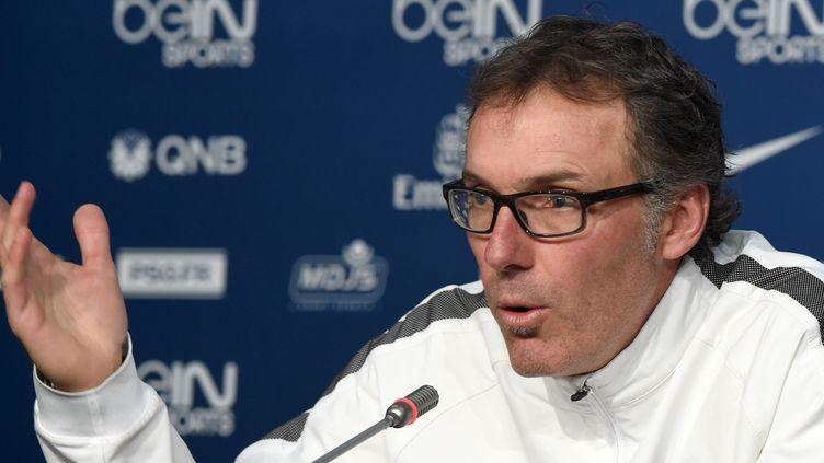 Laurent Blanc, l'entraîneur du PSG (FADEL SENNA / AFP)