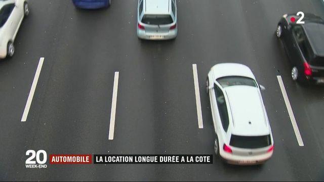 Automobile : la location longue durée à la côté