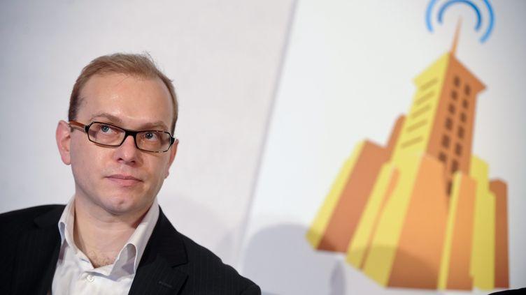 Cedric Tournay, PDG de Dailymotion, le 25 janvier 2011 à Paris. (CHRISTOPHE PETIT TESSON / MAXPPP)