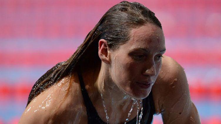Camille Muffat, double médaillée de bronze à Barcelone