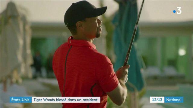 Sport : le golfeur Tiger Woods grièvement blessé lors d'un accident de voiture