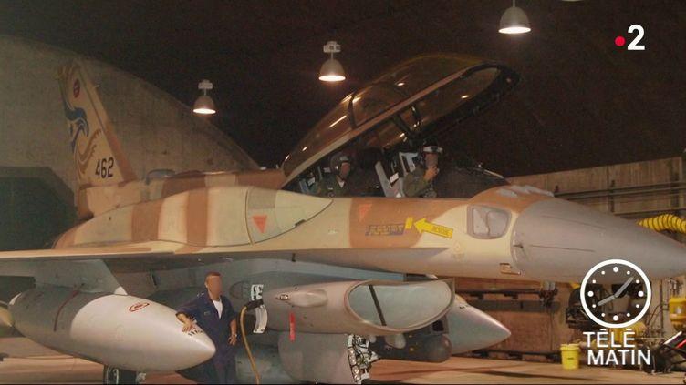 Un avion de chasse israélien (France 3)