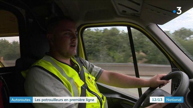 Autoroutes : les patrouilleurs en première ligne