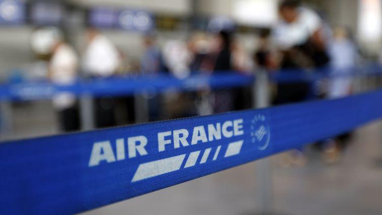 Aéroport de Nice, le 18 septembre 2014. (VALERY HACHE / AFP)