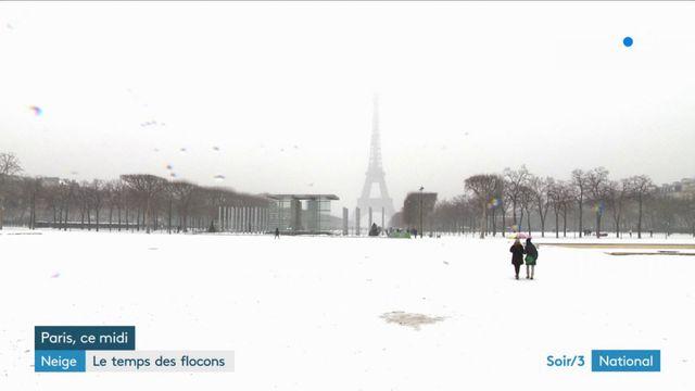 Neige : un paysage de carte postale, non sans risques