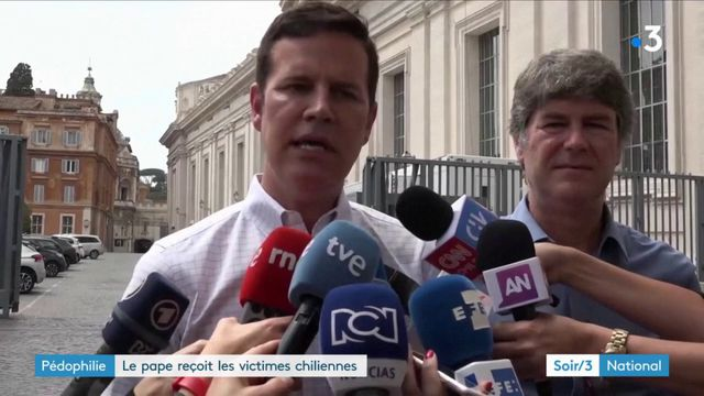 Pédophilie : le pape reçoit des victimes chiliennes