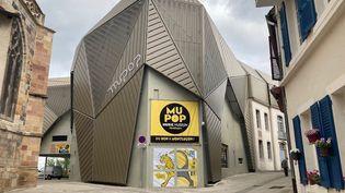 Le MuPop, musées des musiques populaires se trouve dans le centre médiéval de Montluçon, dans l'Allier. (INGRID POHU / RADIO FRANCE)