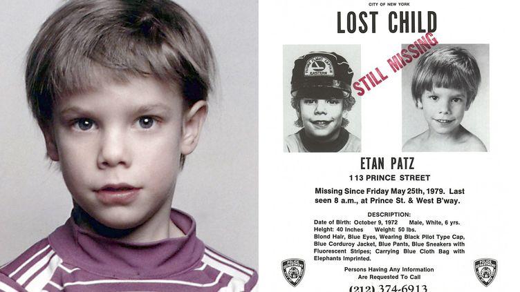 Etan Patz a disparu en 1979, à New York. (NYPD & STANLEY PATZ / AFP)