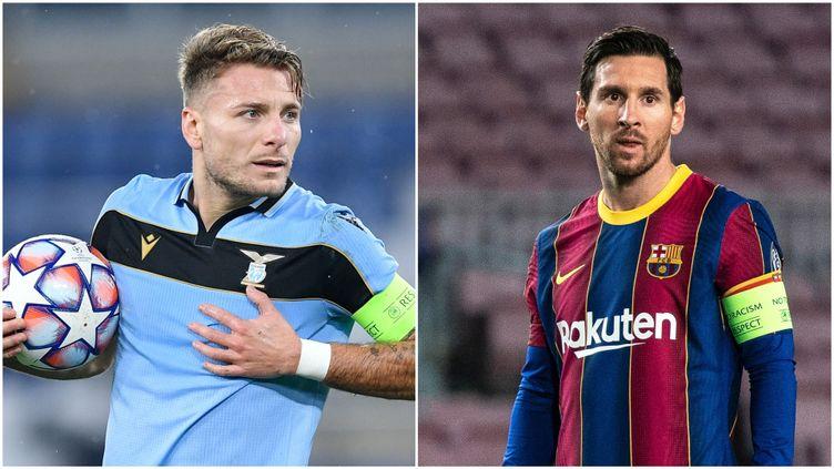 La Lazio de Ciro Immobile et le Barça de Leo Messi sont deux des adversaires possibles du PSG en 8es.