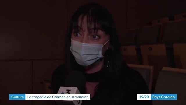 """Le conservatoire de Perpignan diffuse en streaming """"La Tragédie de Carmen"""""""