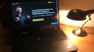 Le site de paris en ligne PronoClub. (XAVIER MEUNIER / FRANCEINFO / RADIO FRANCEE)