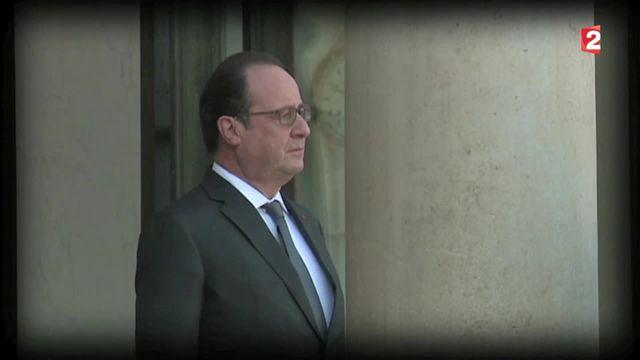 Attentats à Paris : le marathon de François Hollande