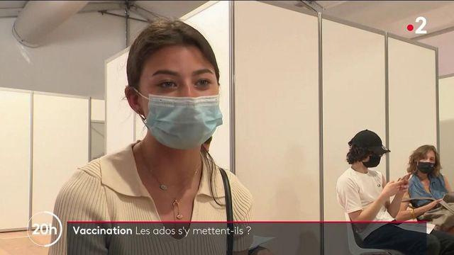 Covid-19 : les 12-18 ans se vaccinent en masse suite aux dernières annonces gouvernementales