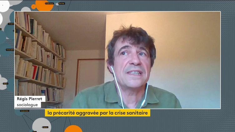 """Covid-19 : """"Ce que la crise a encore accentué, c'est la précarité des jeunes"""", estime Régis Pierret, sociologue (FRANCEINFO)"""