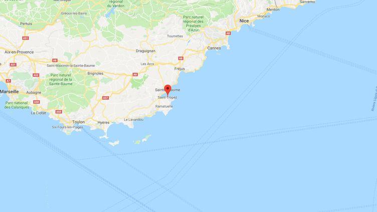 Saint-Tropez, enProvence-Alpes-Côte d'Azur. (GOOGLE MAPS)