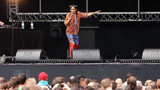 Sur une des scènes montées pour la Fête de la Musique, à Paris, un 21 juin 2015  (Sevgi / Sipa)